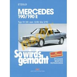 Mercedes-Benz 190/190E W201 1982-93 (Javítási kézikönyv)