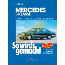 Mercedes-Benz E-Klasse W 124 1985-95 (Javítási kézikönyv)