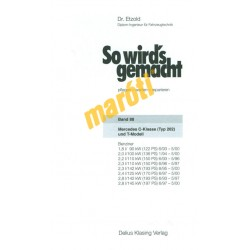 Mercedes C-Klasse W202 1993-2000 (Javítási kézikönyv)