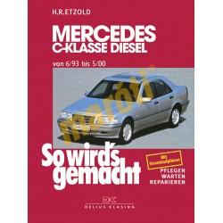 Mercedes C-Klasse Diesel W202 1993-2000 (Javítási kézikönyv)