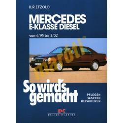 Mercedes E-Klasse Diesel 1995-2002 (Javítási kézikönyv)