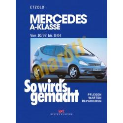 Mercedes A-Klasse 1997-2004 (Javítási kézikönyv)
