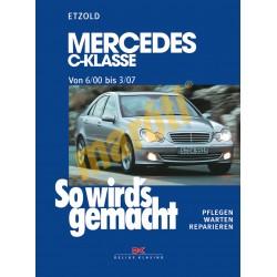 Mercedes C-Klasse 2000-2007 (Javítási kézikönyv)