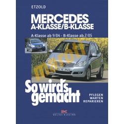 Mercedes A und B-Klasse 2004-2012 (Javítási kézikönyv)
