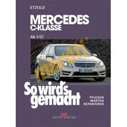 Mercedes C-Klasse 2007-2013 (Javítási kézikönyv)