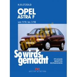 Opel Astra F 1991-98 (Javítási kézikönyv)