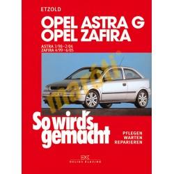 Opel Astra G/Zafira 1998-2004 (Javítási kézikönyv)