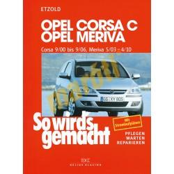 Opel Corsa C 2000-2006 Opel Meriva 2003-2010 (Javítási kézikönyv)