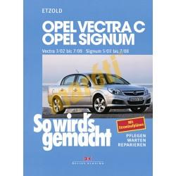 Opel Vectra C und Signum 2002-2008 (Javítási kézikönyv)