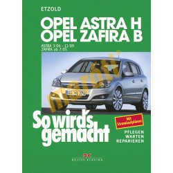 Opel Astra H 2004-2009 (Javítási kézikönyv)