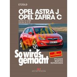 Opel Astra J 2009- Opel Zafira C 2012- (Javítási kézikönyv)