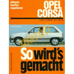 Opel Corsa 1,0l  (Javítási kézikönyv)