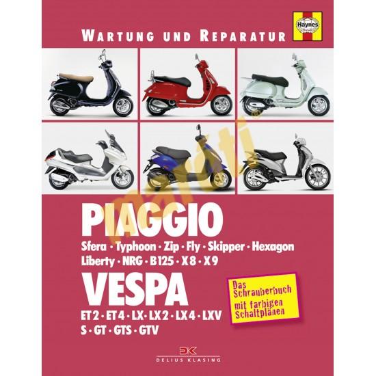 Piaggio / Vespa (Javítási könyv)