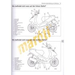 Automatik-Roller 50-250 cm3 (Javítási könyv)
