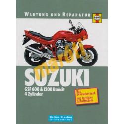 Suzuki GSF 600 & 1200 Bandit 4 Zylinder  (Javítási könyv)