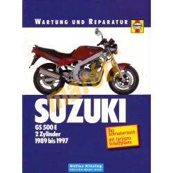 Suzuki GS 500 E 1989-1997 (Javítási könyv)