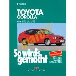 Toyota Corolla 1992-2002 (Javítási kézikönyv)