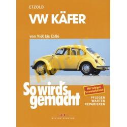 Volkswagen Käfer 1960-86 (Javítási kézikönyv)