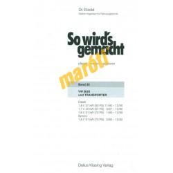 Volkswagen Bus und Transporter Diesel 1980-92 (Javítási kézikönyv)