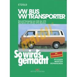 Volkswagen Bus und Transporter 1982-90 (Javítási kézikönyv)