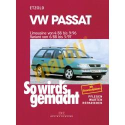 Volkswagen Passat 1988-96 (Javítási kézikönyv)
