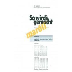 Volkswagen Golf und Vento 1991-97  (Javítási kézikönyv)
