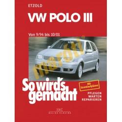 Volkswagen Polo III 1994-01 (Javítási kézikönyv)