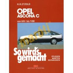 Opel Ascona C 1981-88 (Javítási kézikönyv)
