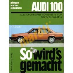 Audi 100 und Avant 1977-1982 (Javítási kézikönyv)