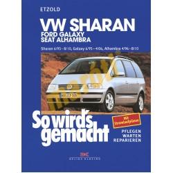 Volkswagen Sharan Ford Galaxy und Seat Alhambra 1995- (Javítási kézikönyv)