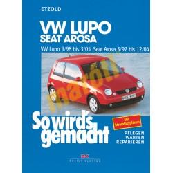 Volkswagen Lupo 1998-2005, Seat Arosa 1997-2004 (Javítási kézikönyv)