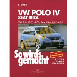 Volkswagen Polo IV 2001-2009 Seat Ibiza 2002-2008 (Javítási kézikönyv)