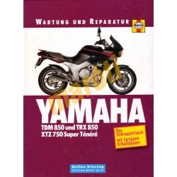 Yamaha TDM 850 und TRX 850 XTZ 750 Super Tenere (Javítási könyv)