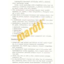 ARO M-461 javítási iránydíjak és iránynormák