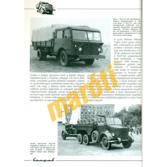Csepel D-350, D-352 honvédségi és polgári tehergépkocsik (1949-1960)