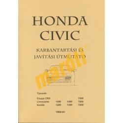 Honda Civic karbantartási és javítási útmutató