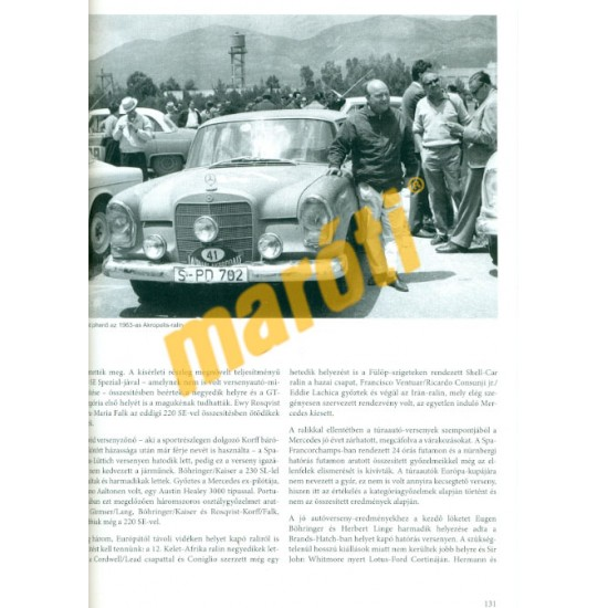 Mercedes autók - Fecskefarkú modellek