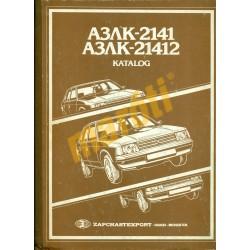 Moszkvics 2141, Moszkvics 21412 katalog
