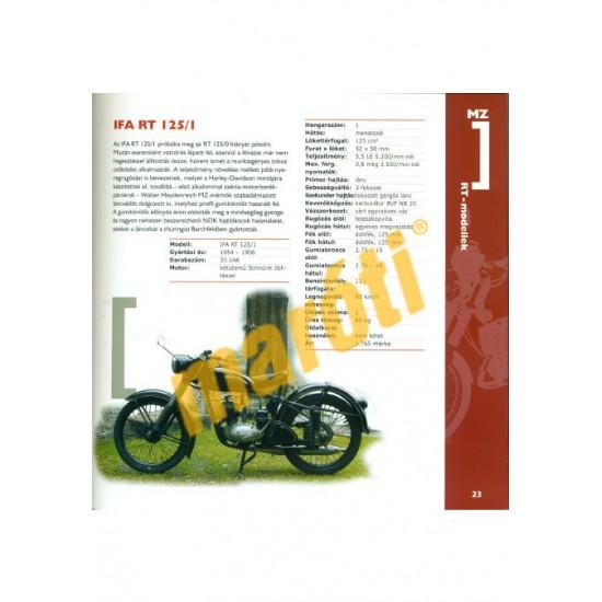 MZ motorkerékpárok 1950-től