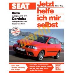 Seat Ibiza 2002-09 Seat Cordoba 2003-08 Benzin Diesel (Javítási kézikönyv)