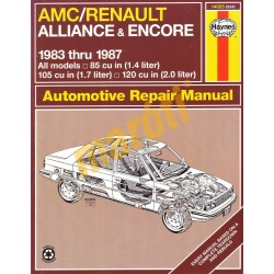 AMC / Renault Alliance & Encore 1983-1987