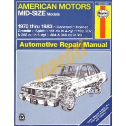 American Motors Mid-Size Models 1970-1983