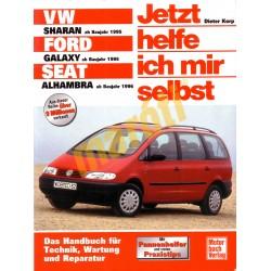 VW Sharan / Ford Galaxy / Seat Alhambra ab 1995 (Seat Alhambra ab 1996) (Javítási kézikönyv)