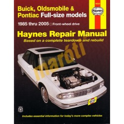 Buick, Oldsmobile & Pontiac Full-size 1985 - 2005