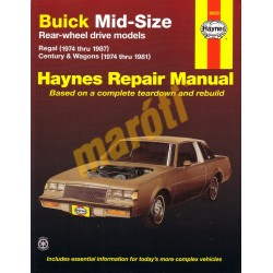Buick Mid-size (RWD) 1974 - 1987