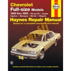 Chevrolet Full-size Models 1969 - 1990