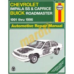 Chevrolet Impala SS & Caprice & Buick Roadmaster 1991 - 1996