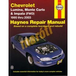 Chevrolet Lumina, Monte Carlo & Impala (FWD) 1995 - 2003