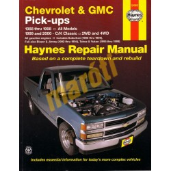 Chevrolet & GMC Pick-ups, 2WD & 4WD 1988 - 1998 and 1999 and 2000