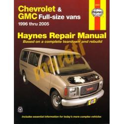 Chevrolet & GMC Full-size Vans, 1996 - 2005